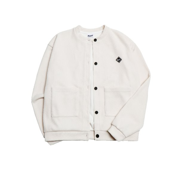19FW KNIT FLEECE CARDIGAN [CREAM]