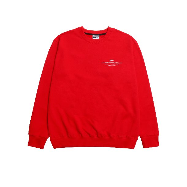 MOTIVE SWEAT [RED]