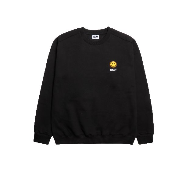MONEY SMILEY SWEAT 2.0 [BLACK]