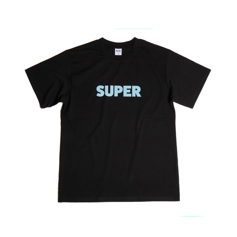 SUPER T-SHIRT [BLACK]
